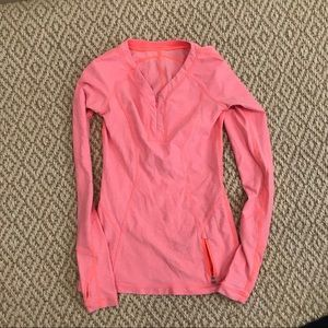 Lulu running top long sleeve